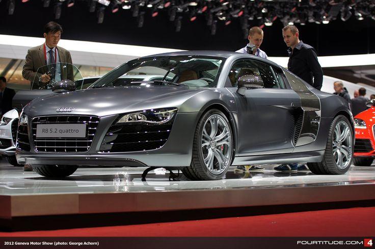 Audi Exclusive Audi R8 V10 With Daytona Grey Matte Paint