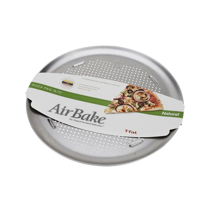 Airbake Natural Large Aluminum Pizza Pan, 15.75in -- Tried it! Love it! Click the image. : Pizza Pans and Stones