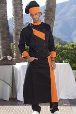 PAGAMENTO ANCHE ALLA CONSEGNA Grembiule Cuoco Uomo Donna da Lavoro Cucina Chef Ristorante Abbigliamento Abiti