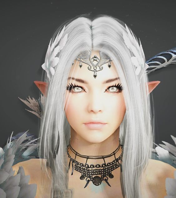 Snow Elf - Black Desert Templates: