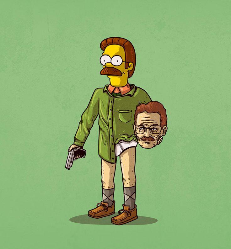Lidentité secrète des personnages de popculture par Alex Solis  Dessein de dessin