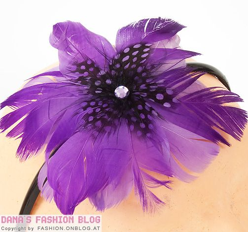 Fashion Accessory DIY Tutorial: Tinker a beautiful, luxurious feather headband