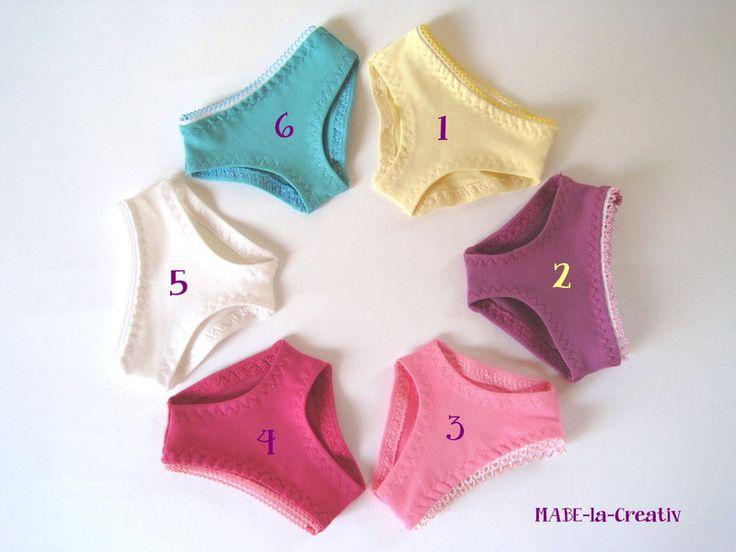 """Panty """"Hannah """" - in 6 Farben zur Wahl von © MABE la Creativ - KIDS auf DaWanda.com"""