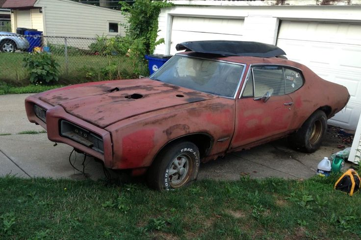 Rusty Old Goat: 1968 Pontiac GTO - http://barnfinds.com/rusty-old-goat-1968-pontiac-gto/
