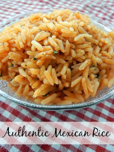 Num's the Word: We've tried a LOT of Mexican/Spanish rice's and this is our favorite.  It's easy and delicious.  Perfect side to any meal!