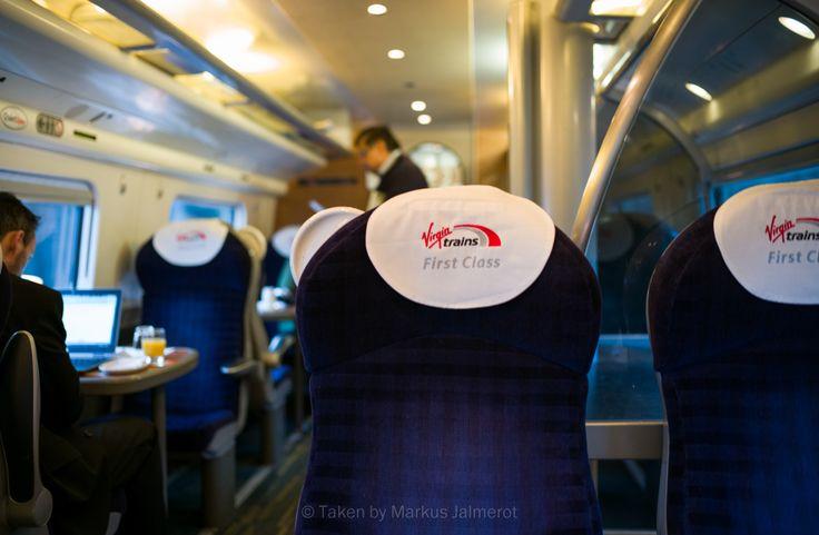 On the train.. #virgin #train