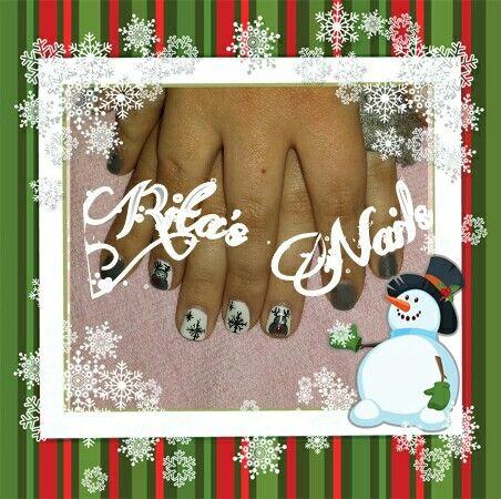 Christmas nail design! !!!