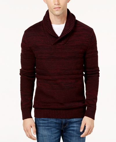 American Rag Men's Shawl Collar Sweater, Created for Macy's - Sweaters - Men - Macy's