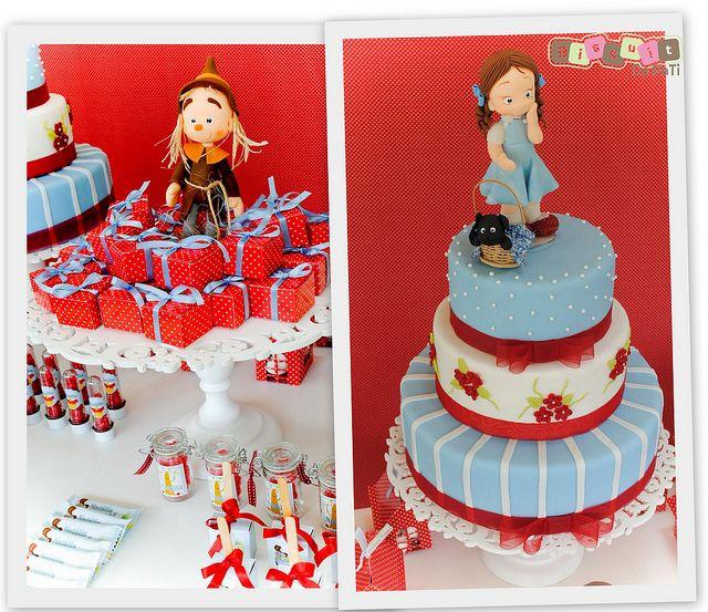 Mágico de Oz. the Wizard of Oz, Dorothy & Toto #cake