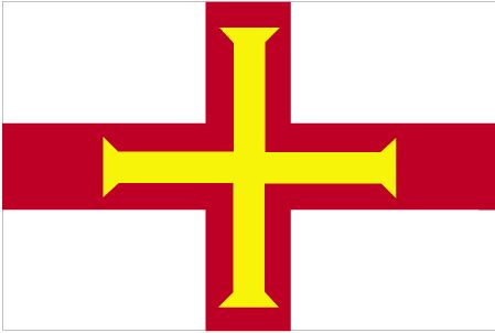 Country Flags: Guernsey Flag