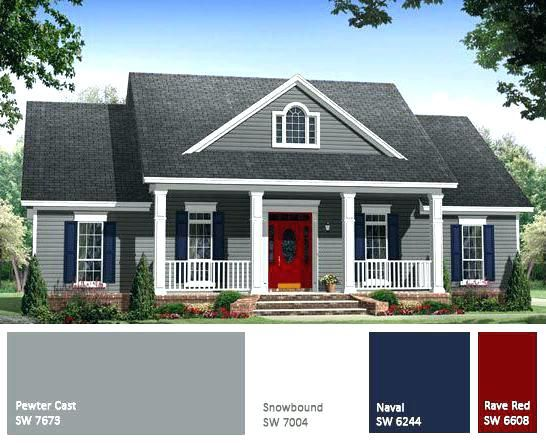 Exterior House Colors With Red Brick Outside House Colors Elegant Exterior House Paint Color Combinations House Paint Exterior Exterior Paint Colors For House