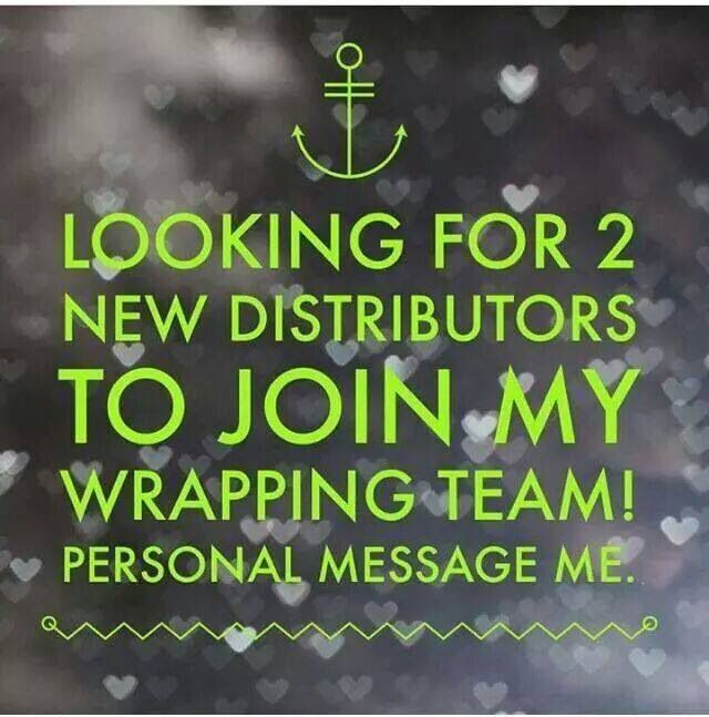 Personally contact me today!!! Great company to work for! www.sarahlamarlere.myitworks.com/fr/
