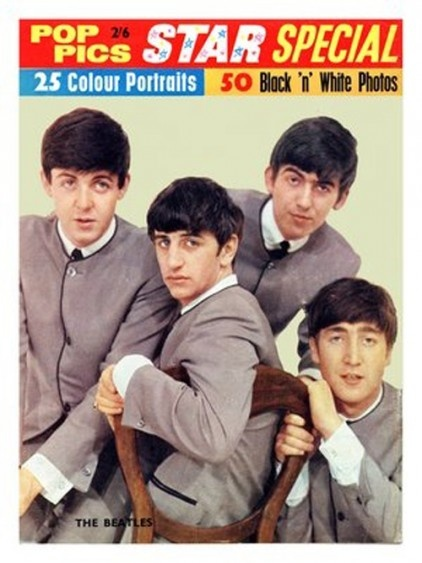 Vintage Music Posters - Beatles magazine cover