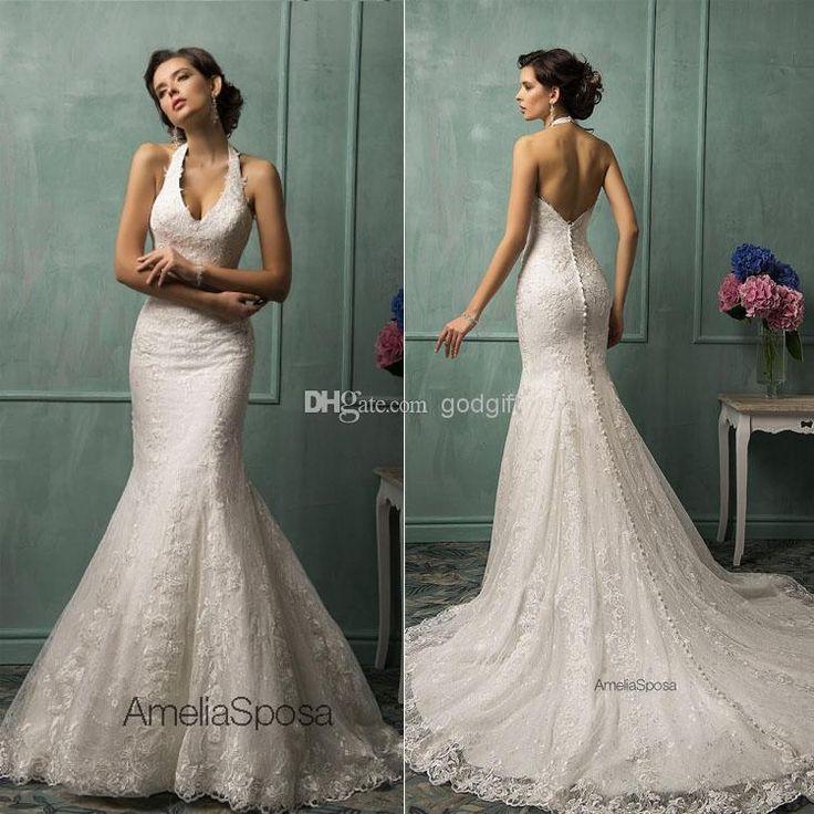1000+ Ideas About Halter Wedding Dresses On Pinterest