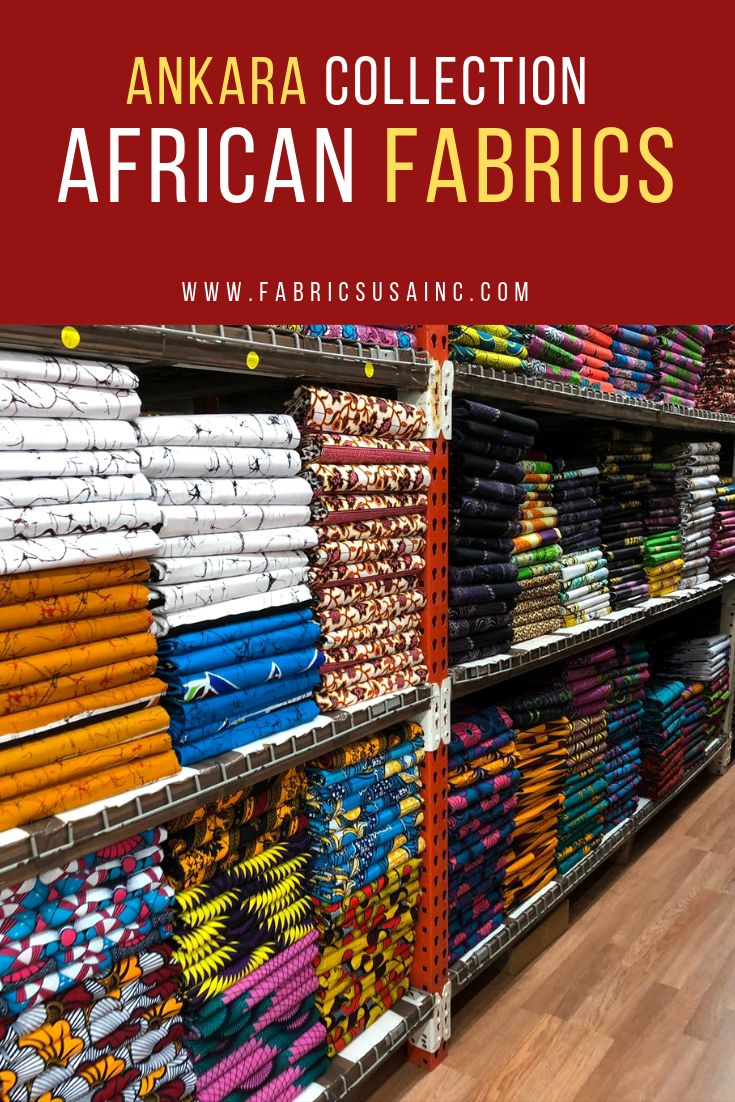 Ankara Collection African Fabric African Fabric Store Fabric