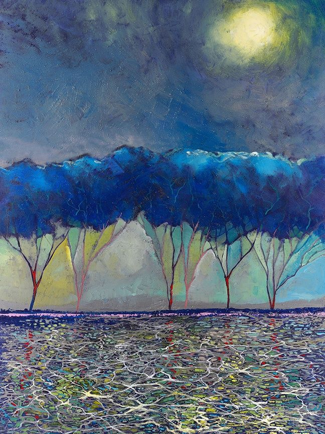 """Ford Smith Fine Art : """"Daydreaming Moon"""""""