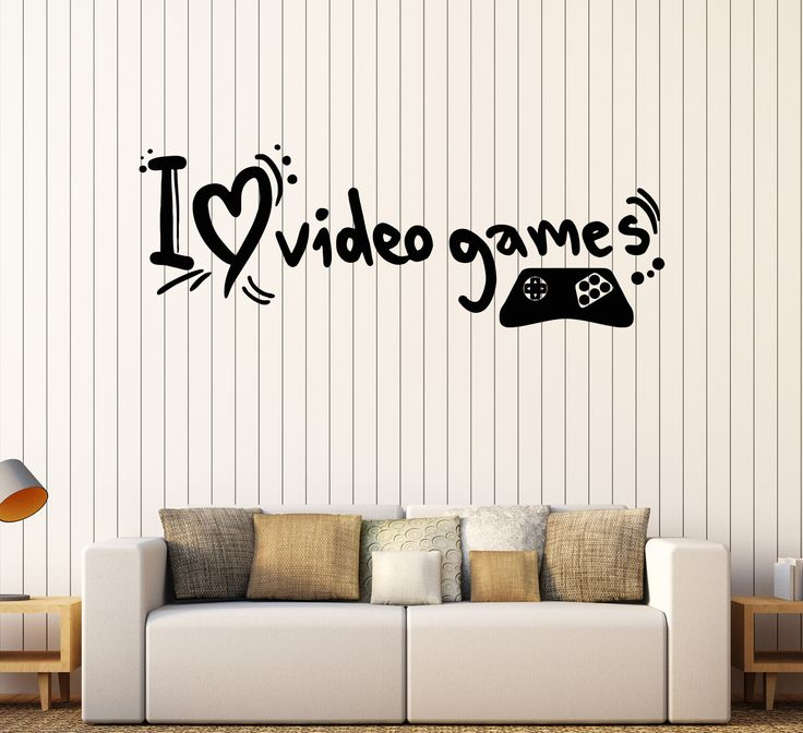 Rec Room Wall Stickers