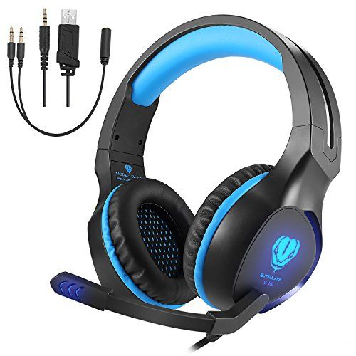 FarCry 5 Gamer  #Gaming #Headset with #Mic, #VPRAWLS 3.5mm #Wired Over-Ear #Bass #Surround #Stereo #Headphone #Noise #Cancelling #LED #Light & #Volume #Control for #PS4 New #Xbox One #Mac #Laptop #Nintendo #Switch #Computer #Games   Price:     Features: 3.5mm connector, it is suitable for iPhone 6 / 6 Plus, Samsung S5, S4, LG, Xiaomi, iPad, PC, #laptop, tablet,PS4,XBOX ONE,etc. Hifi neodymium speaker, surrounded #stereo sound output, bring you vivid sound field High preci