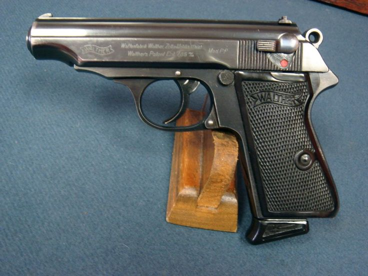 WALTHER PP RARE REICHS JUSTICE MARKED NICE! Find our speedloader now! http://www.amazon.com/shops/raeind