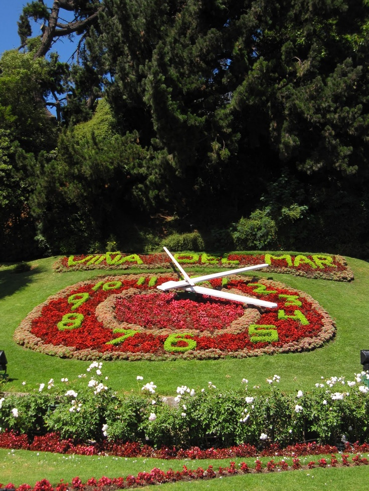 Flower Clock, Vina del Mar