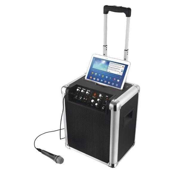 Ηχεία : Trust Urban Fiesta Bluetooth Wireless Speaker 19737 : Φορητό ασύρματο ηχείο με δυναμικό ήχο, ενσωματωμένη μπαταρία και μικρόφωνο για πάρτι και εκδηλώσεις οπουδήποτε! Δυναμικός ήχος 60W. Ενσύρματη και ασύρματη σύνδεση μέσω Bluetooth, εμβέλεια 10μ.   Μόνο 221,11€ !!  #eldargr #Speaker