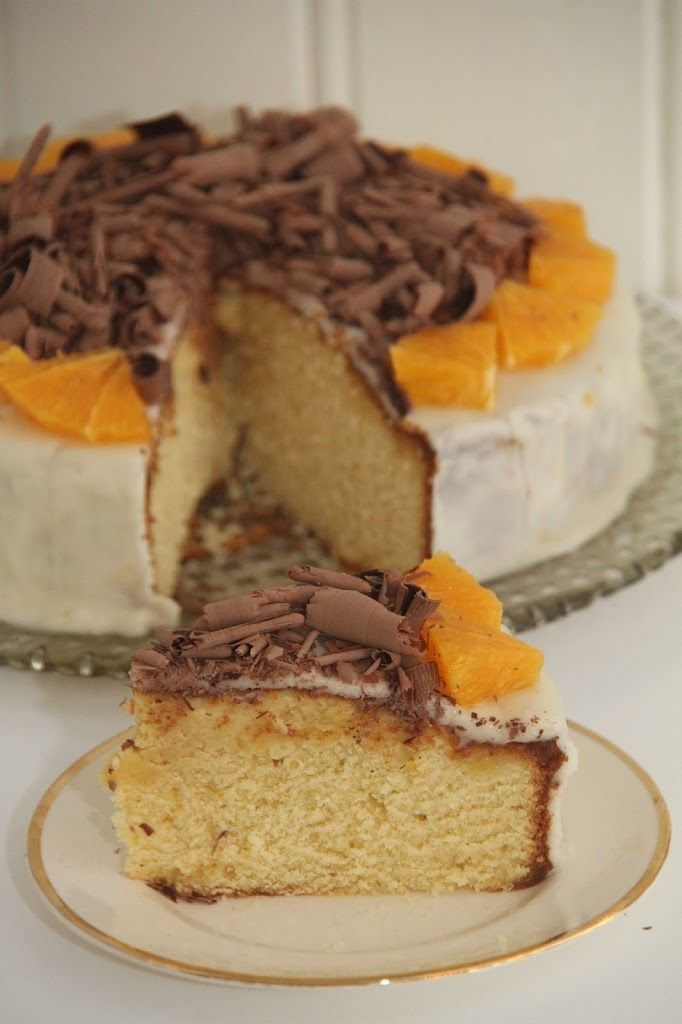 My Little Kitchen | Appelsinkake