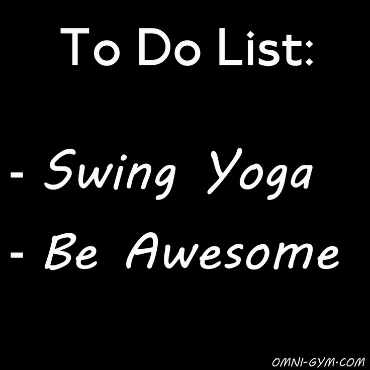To do all things yoga swings pinterest yoga for Places to do yoga