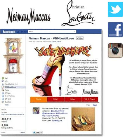 Neiman Marcus contest #casestudy. Incorporates multiple social channels! #marketing