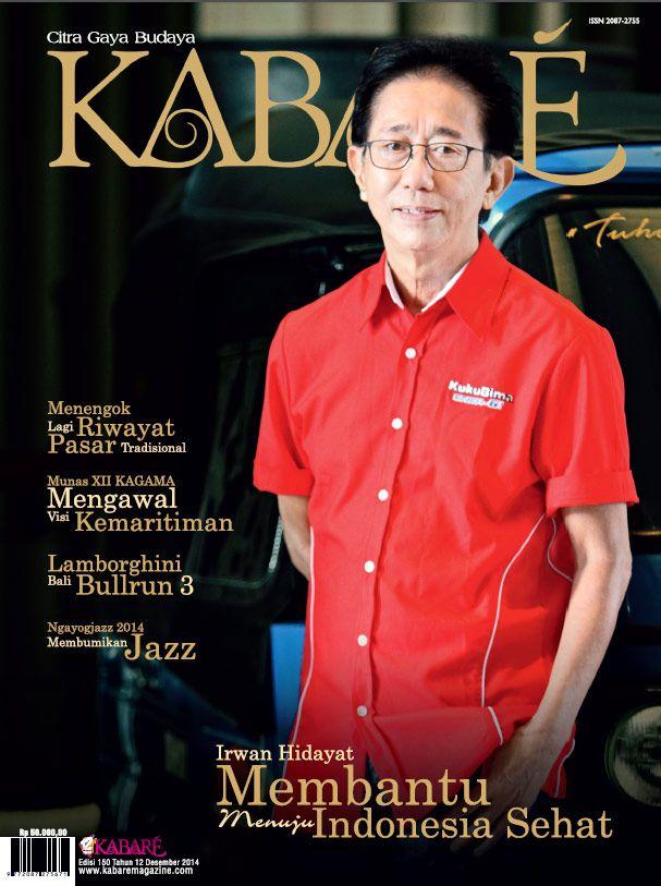 Kabare Magazine edisi Desember 2014