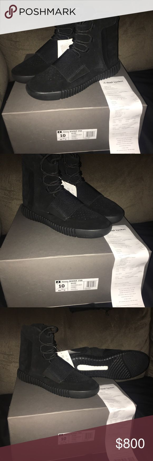 Yeezy boost 750 This is a pair of yeezy boost 750s all black. This pair is currently unavailable but if your looking for any pairs of yeezys I can help you get them at good prices just contact me if be glad to help. Not just 750s, 350s and 700s as well! adidas Shoes Sneakers