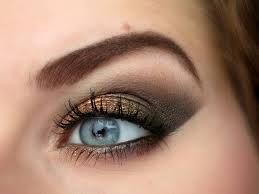 Afbeeldingsresultaat voor koper brons oogschaduw