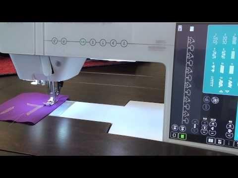 ▶ Pfaff Creative Sensation Pro, Class 1 - YouTube