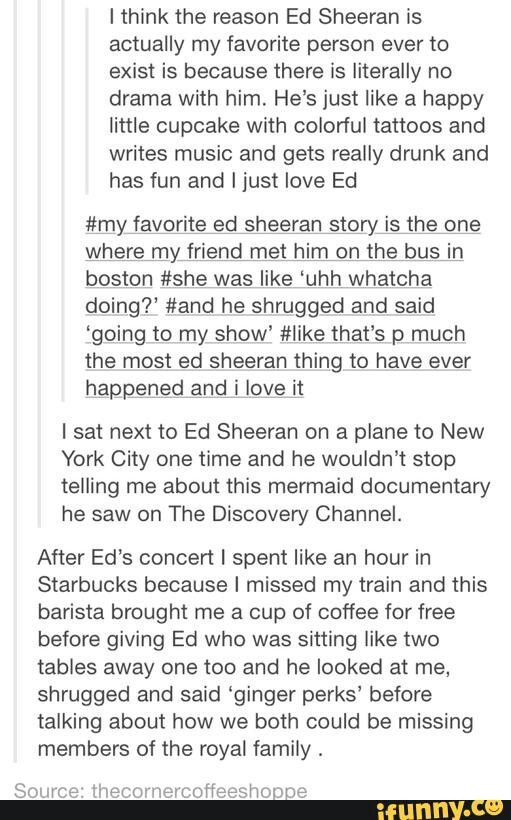 I'm not particularly into ed Sheehan but this is pretty freaking awesome