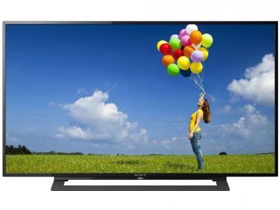 """TV LED 32"""" Sony KDL-32R305B - Conversor Integrado 2 HDMI 1 USB com as melhores condições você encontra no Magazine Fariasevoce. Confira!"""