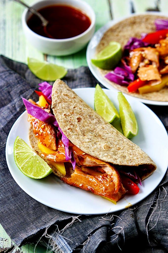 Isn't this delicious? - Tacos tailandeses de salmão