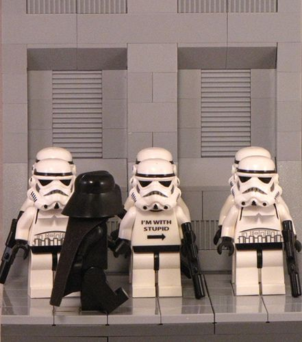 Lego Star Wars ... there's stupid