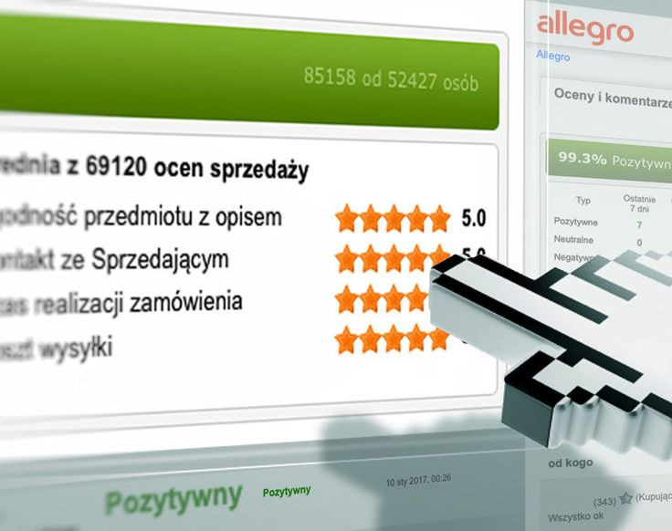Allegro na bieżąco realizuje swoją obietnicę zmian odnośnie systemu ocen i komentarzy. Już teraz oceny wystawiane przez kupujących są jawne dla sprzedającego i dotyczą zgodności przedmiotu z opisem, kontaktu ze sprzedającym, czasu realizacji zamówienia oraz kosztu wysyłki. Dzięki temu sprzedający będą mieli lepszy pogląd na poziom obsługi w danym obszarze swojej działalności.  792 817 241 biuro@e-prom.com.pl #obsługaallegro #zmianynaallegro #centrumpomocy