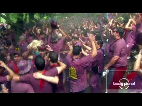 Batalla Del Vino, Haro Spain - Lonely Planet travel video
