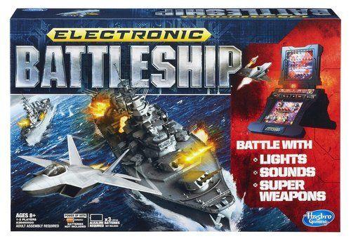 Hasbro - Board Game - Battleship Electronic: Amazon.co.uk: Toys & Games