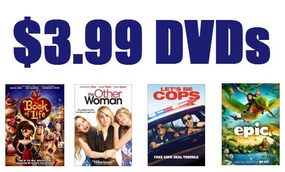Best Buy: DVDs Starting at $3.99 w/ Free In-Store Pick Up - http://www.swaggrabber.com/?p=173109