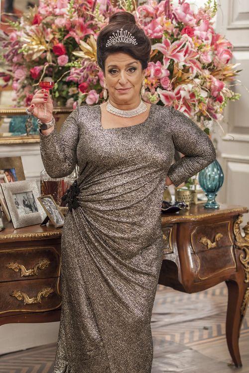 'Agora tá nascendo a Grace pop da Globo', diz Grace Gianoukas, a Teodora Abdala de 'Haja Coração'