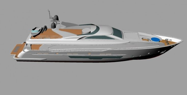 Modern Yacht 3d Model 3d Models