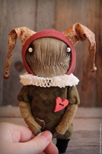 Коллекционные куклы ручной работы. Влюбленный шут.... Ирина Сайфийдинова. Интернет-магазин Ярмарка Мастеров. Кукла шут, клоун кукла