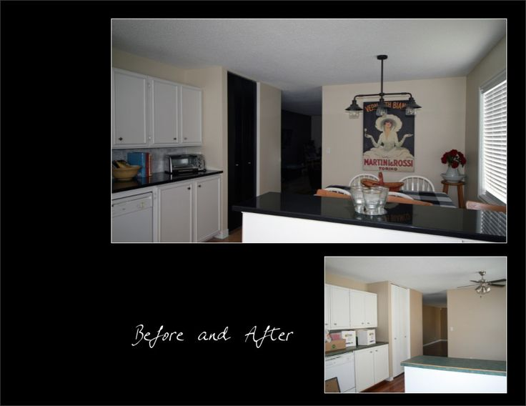 Kitchen - Before & After