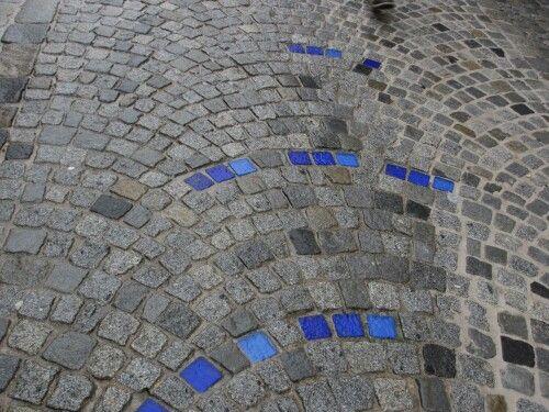 Cobblestones in Melk