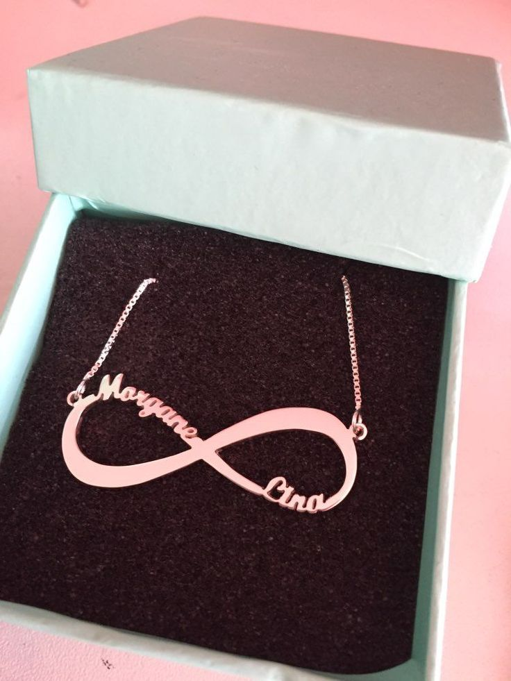 Cute Personalized Infinity Necklace Infinity shape necklace, infinity symbol necklace, infinity jewelry, gold infinity necklace, infinity cross necklace, infinity name necklace,  infinity jewellery, silver infinity necklace, rose gold infinity necklace, i