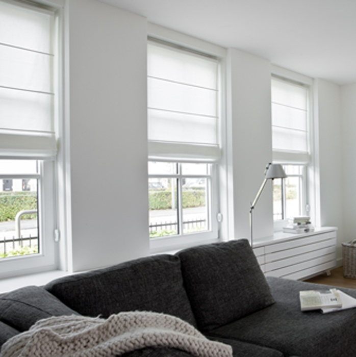 Vouwgordijnen | Timmermans Indoor Design http://www.timmermansindoordesign.nl/