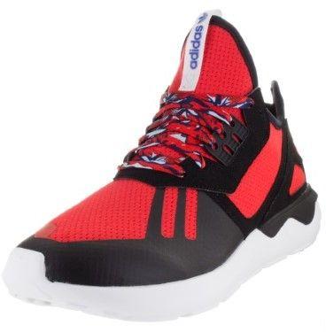 adidas Men's Tubular Runner Originals Aciwas/Amared/Blslme Running Shoe 8 Men US