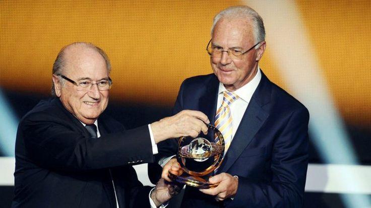 El pacto secreto entre Franz Beckenbauer y Joseph Blatter