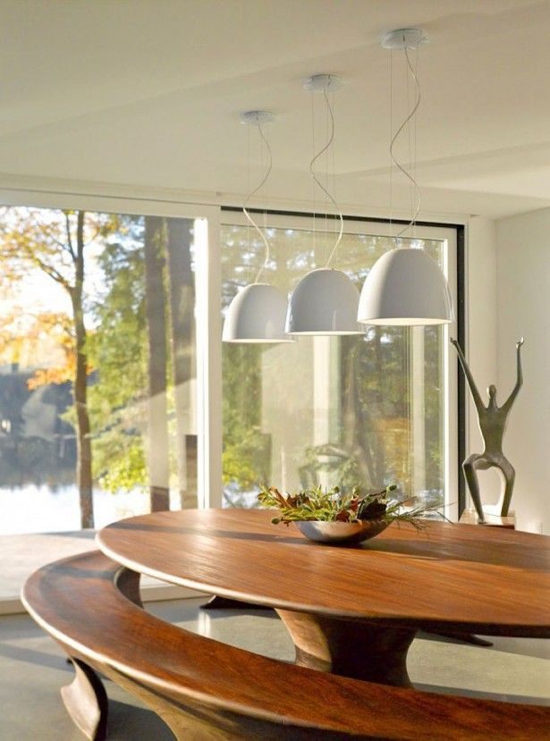 Cool Hanging Lighting Above Oval Dining Table With Greenery Centrepiece Feat Extraordinary Seating